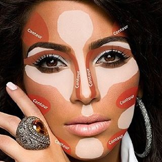 image of contour and highlight points