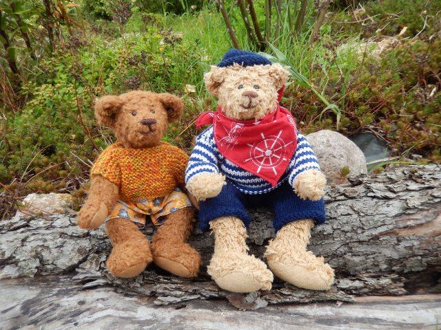 family of INTP stuffed bears