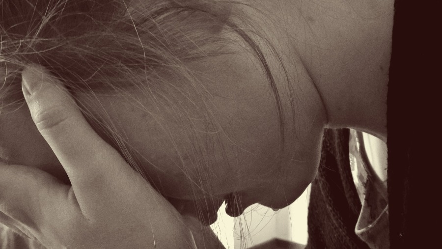 woman crying - embarrassing moments that don't need to be
